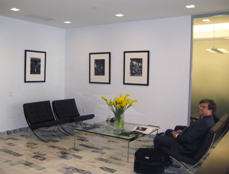 Corporate Picture Installation Waiting Area Space